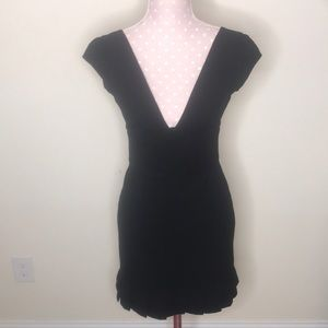 Bebe Sexy Black Dress Sz 6